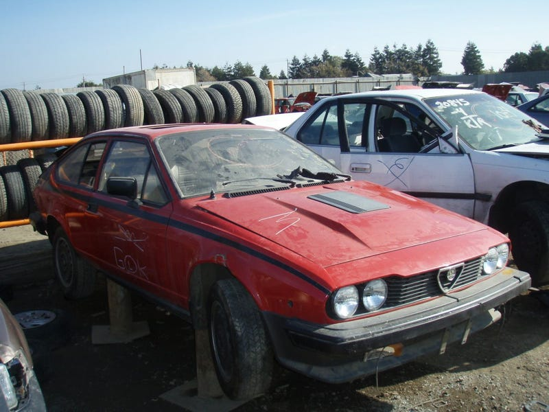 Pair Of Jensen-Healeys and Alfa Romeo GTV Provide A Change Of Pace For The Crusher