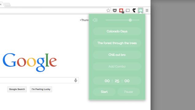 Noisli for Chrome Generates Background Sound to Keep You Productive