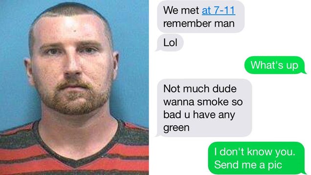 Cops: Florida Man Trying to Buy WeedAccidentally Texts Narcotics Captain