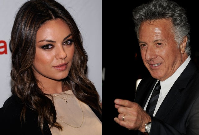 Dustin Hoffman, Mila Kunis Latest Celebs to Save Some Random Schmo's Life