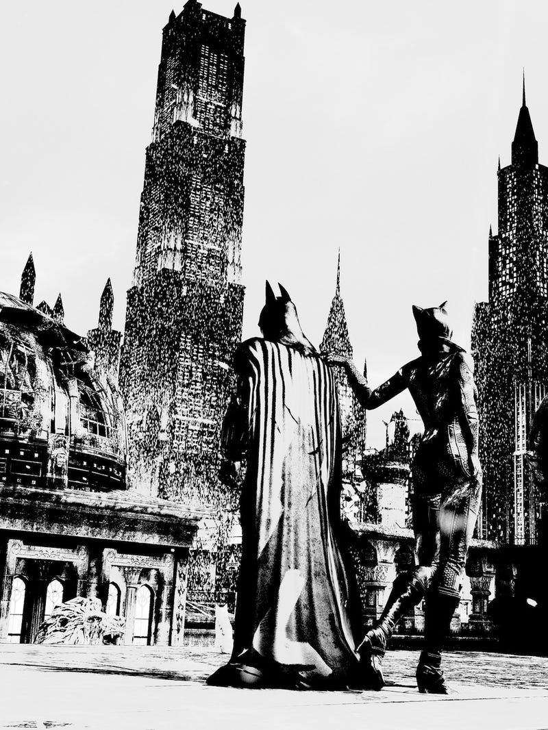 Batman Games Look Best in Black and White