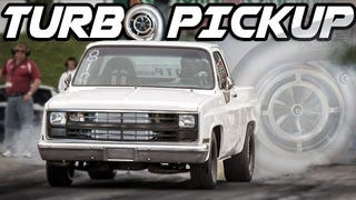 Watch A 1983 Chevy Pickup Run A Screaming 10-Second Quarter Mile