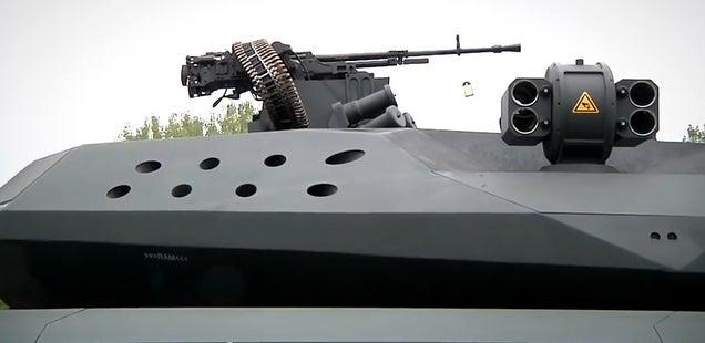 Crean un prototipo de tanque invisible a detección por infrarrojos 658692497223699491