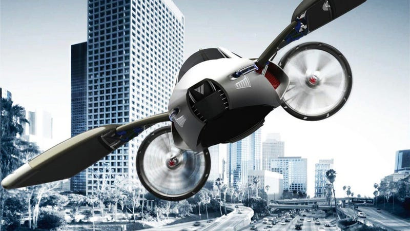 The Greatest Flying Car Concepts Of All Time