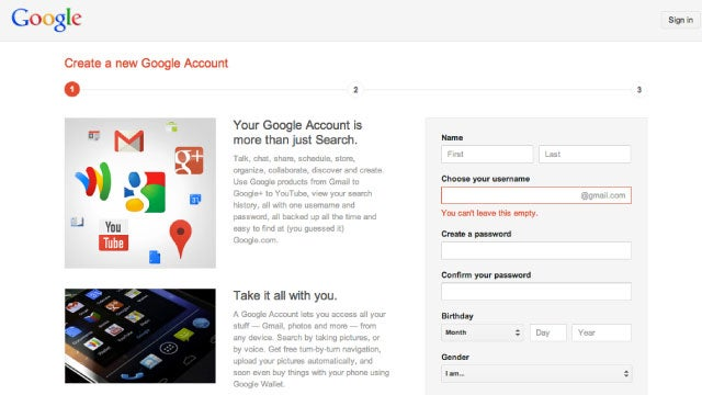 How to Sign Up for a Google Account Without Being Forced into Google+ or Gmail