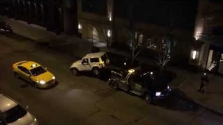 ​Heroic Chicagoan Escapes Tyrant Tow Truck