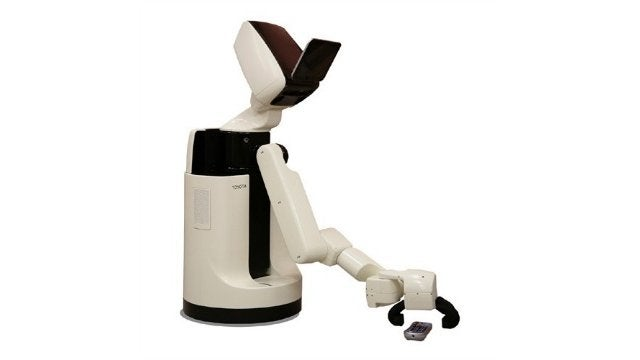 This Human Support Robot Is the Robo-Butler of the Future