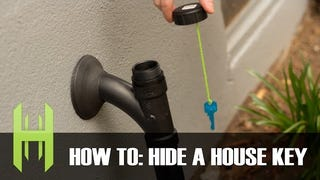 Build a Convincing Hide-a-Key Out of PVC Pipe Parts