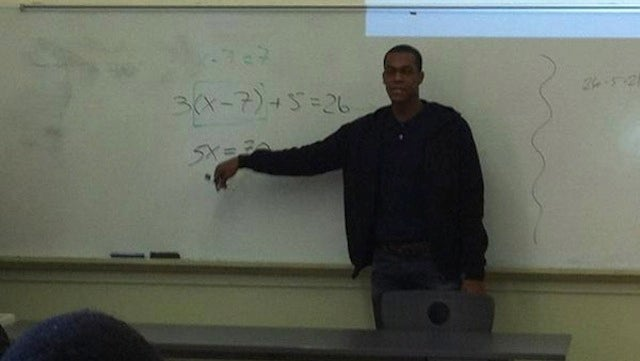 Rajon Rondo Taught Math To Some High-School Kids Like Only He Could