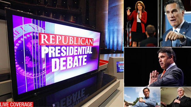 Live: The Ronald Reagan GOP Debate