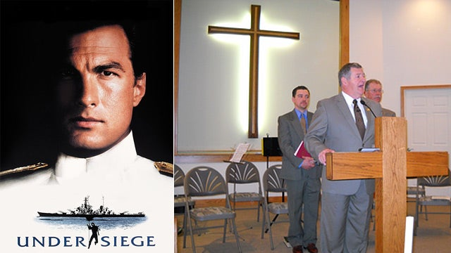 Pastor's Fake Navy SEAL Career Based on Under Siege