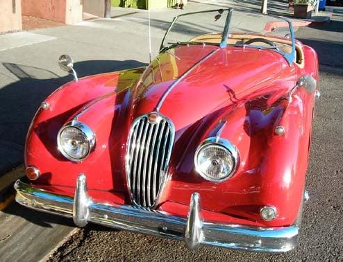 Berkeley Isn't Just About The Prius: Street-Driven Jaguar XK140