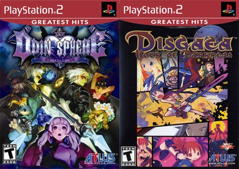 Odin Sphere, Disgaea To Go Greatest Hits