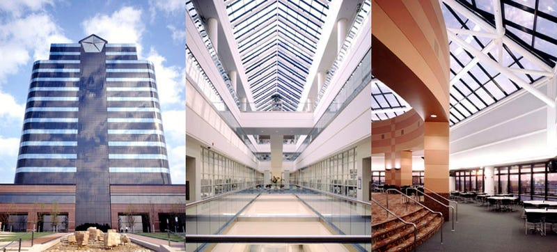 Chrysler HQ Designed To Convert Into Shopping Mall
