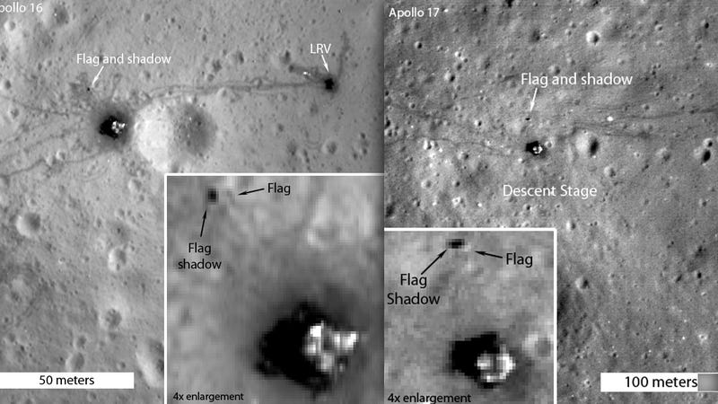 All the American Flags On the Moon Are Now White