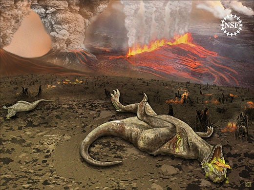 New Evidence Suggests An Asteroid Couldn't Have Killed The Dinosaurs