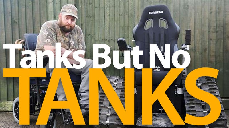 Man Told His All-Terrain Wheelchair Can't Be Used as It Resembles a Tank