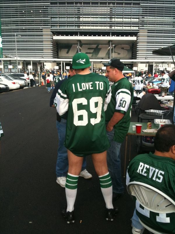 Jets Fans Are Just As Classy As Their Team