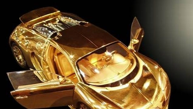 gold bugatti veyron news videos reviews and gossip jalopnik. Black Bedroom Furniture Sets. Home Design Ideas