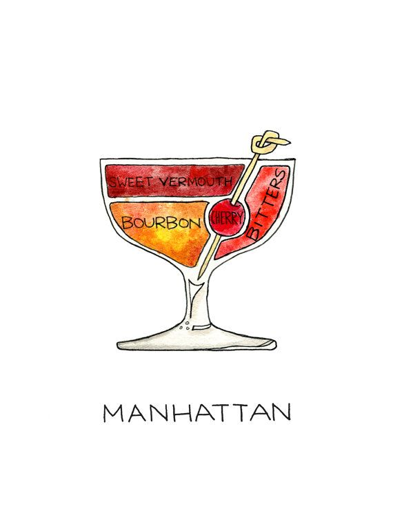 whats in a manhattan drink