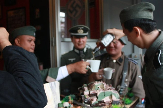 Man Opens Nazi Cafe, Baffled that It Pisses People Off
