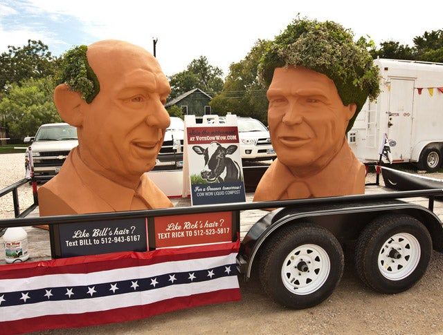 Buy a 6-Foot-Tall Rick Perry Chia Pet
