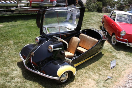 1955 Messerschmitt KR200: King Of The Tiny Road