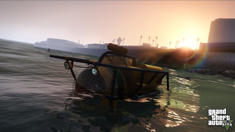 Merry Christmas! Here are Five New Screens of Grand Theft Auto V.