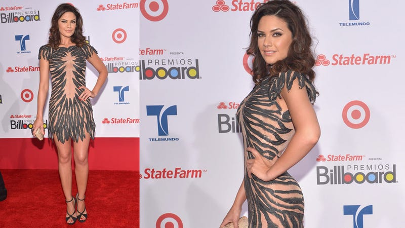 The Clothes Were Loud at the Latin Music Awards
