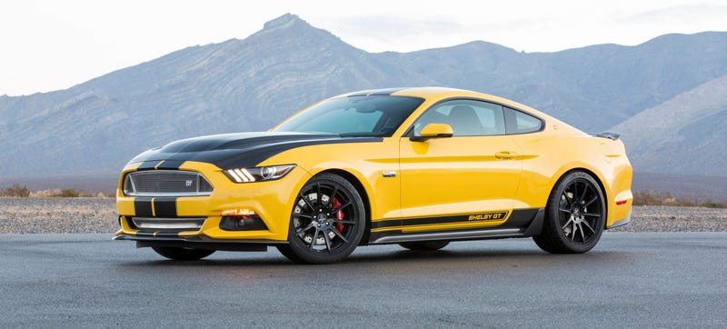 The 2015 Shelby Gt Is 627 Horsepower Of American Mustang