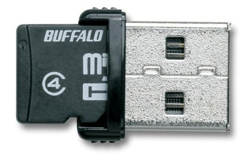 Buffalo's microSD Card Reader Also Has 16GB On Board