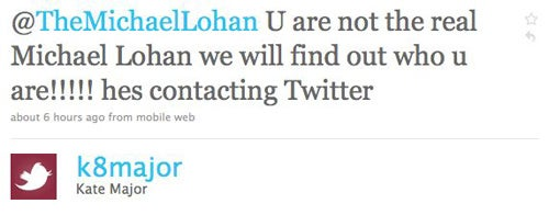 Michael Lohan Claims He Doesn't Have A Twitter Account