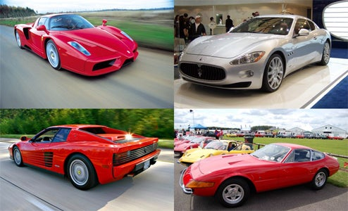 The Ten Most Iconic Pininfarina Designs