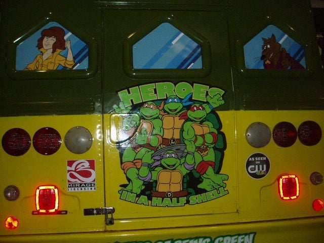 Time Warp: Inside the Turtle Van