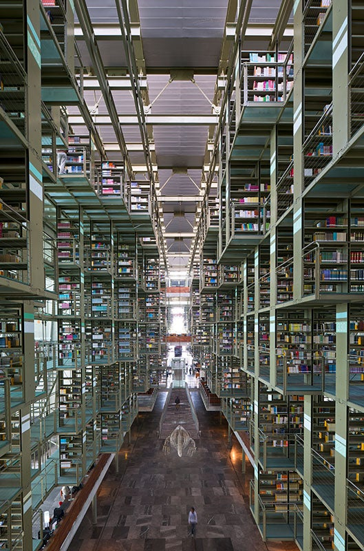 This Impossible Library Seems to be Upside Down