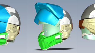 A <em>Halo</em> Motorcycle Helmet And More Brand New Video Game Goods