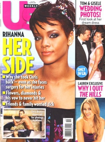 This Week In Tabloids: Veiled Vows For Chris And Rihanna