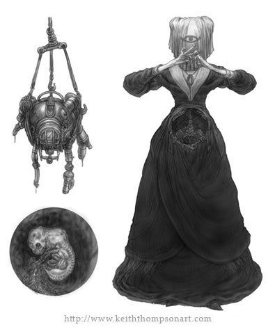 The most unsettling undead concept art we've seen in a while