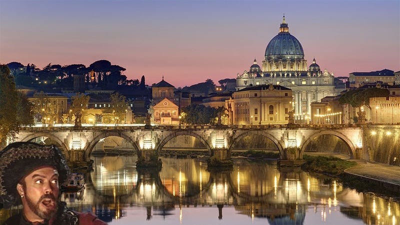 Someone Inside The Vatican Is Pirating Video Games