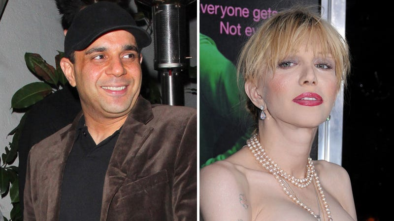 Courtney Love Is Working With Celebrated Leech Sam Lutfi