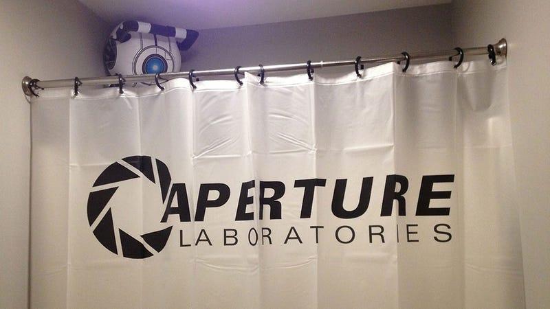 A Portal Bathroom Would Probably Call You Fat