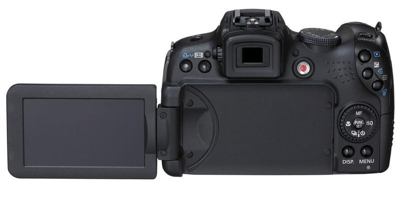 Canon SX1 20x Superzoom Has 10MP CMOS Sensor, Shoots 1080p Video