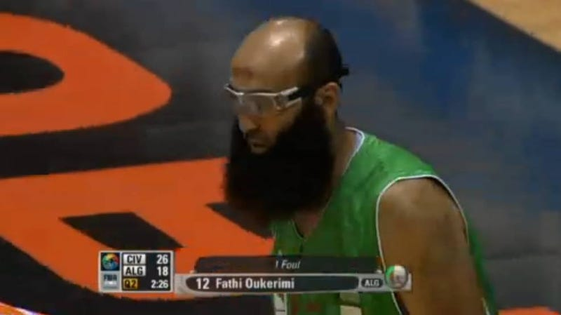 Harden's Beard Put To Shame at FIBA Africa Championships