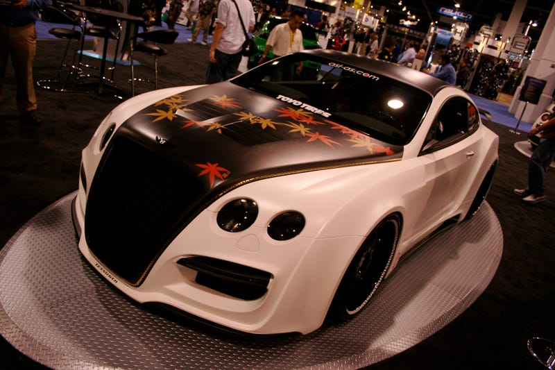 Tetsu GTR On SEMA Show Floor Proves Money Cannot Buy Taste