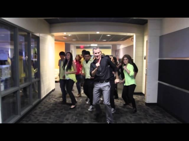 Teacher and his students uptown funk dance routine is pure magic