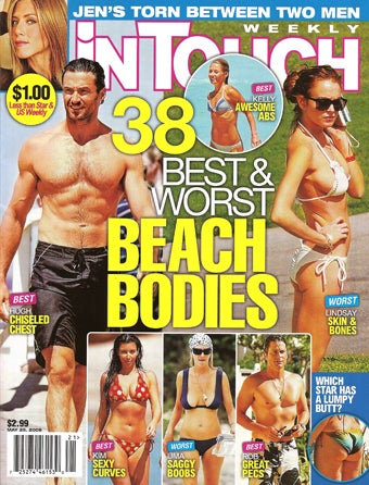 This Week In Tabloids: Bulging Beach Bodies & Hasselhoff Death Watch