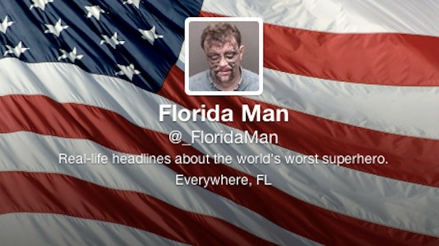 Florida Man is the nation's worst superhero