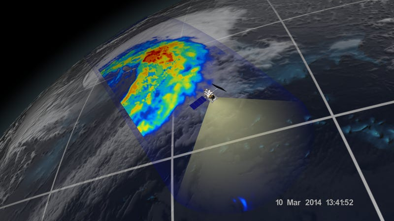 First Images from a New Satellite That Measures Rain and Snowfall