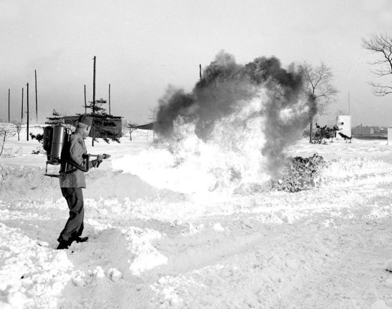 New York fought the 1947 snowpocalypse with flamethrowers