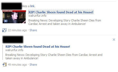Charlie Sheen Is Not Dead
